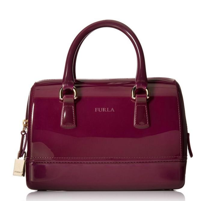 $89.60 FURLA Candy Cookie Mini Satchel Handbag
