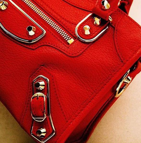 From $195 Red Handbags @ Neiman Marcus