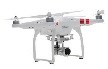 $499 DJI Phantom 3 Standard Quadcopter Aircraft with 3-Axis Gimbal and 2.7k Camera, with Remote Controller