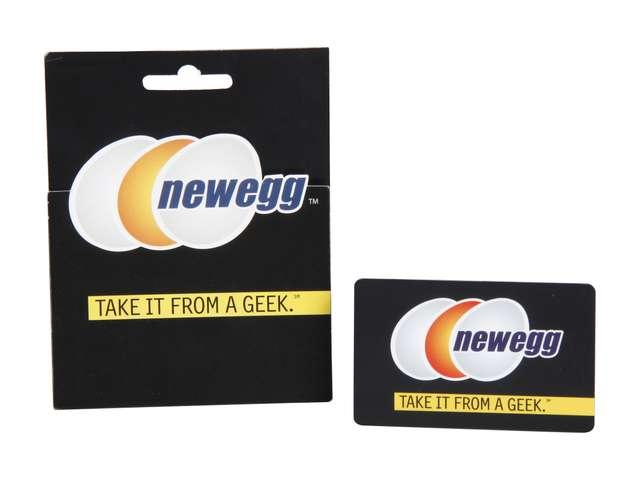 $25 Newegg $25 Gift Card + $5 promotional gift card
