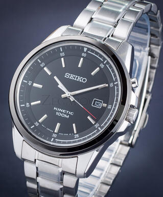 Seiko Men's SKA679 Stainless Steel Bracelet Watch