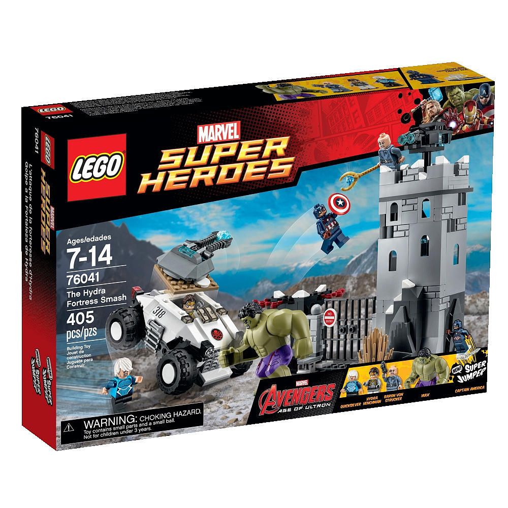 LEGO Super Heroes The Hydra Fortress Smash (76041)
