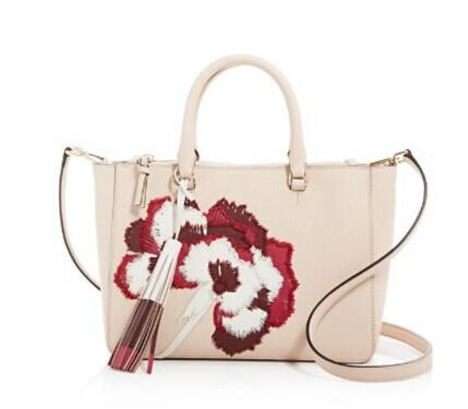 Tory Burch Robinson Floral Applique Small Multi Tote @ Bloomingdales