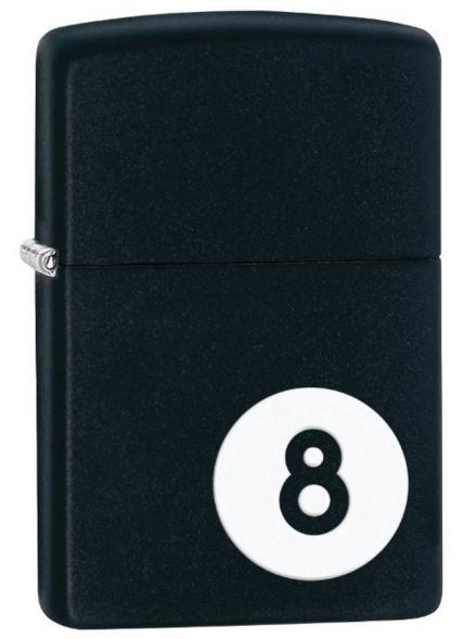 Zippo 8-Ball Pocket Lighter @ Amazon