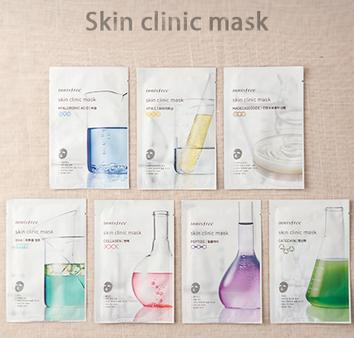 Buy 5 Get 5 FreeSkin Clinic Mask @ Innisfree