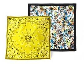 From $99 Versace Patterned Silk Scarf @ MYHABIT