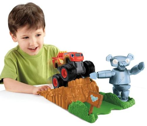 Fisher-Price Nickelodeon Blaze and the Monster Machines Launch and Go Forest Adventure @ Amazon