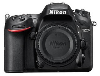 Nikon D7200 DX-Format DSLR Camera Body (Refurbished)