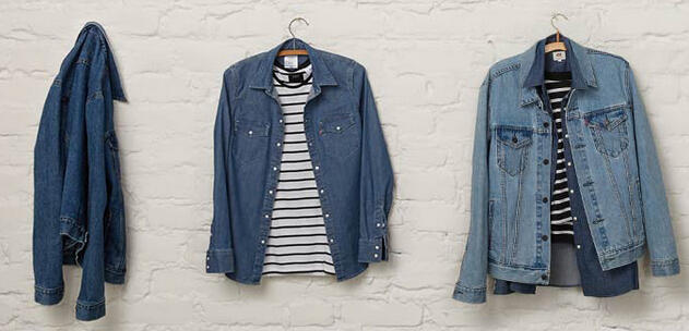 Up to 40% Off Shirts, Jeans and Jackets @ Levis