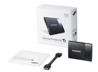 Samsung T1 Portable 250GB USB 3.0 External SSD (MU-PS250B/AM)