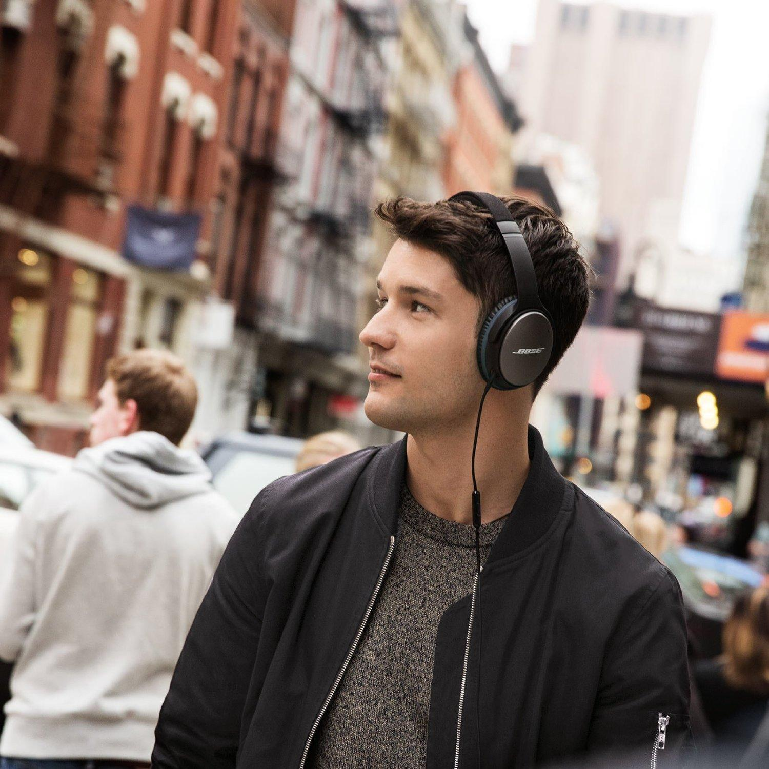 $251.61! Bose QuietComfort 25 Acoustic Noise Cancelling Headphones for Apple devices- Black
