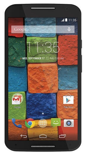 Motorola - Moto X (2nd Generation) 4G LTE Cell Phone - Black