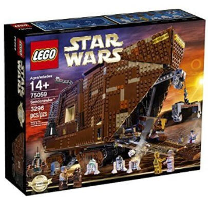From $44.50 LEGO Star Wars Building Toys @ Amazon.com