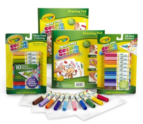 Crayola Color Wonder Refill Set @ Amazon