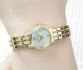 Lowest price! $138.12 Citizen Women's EX1242-56D Eco-Drive Silhouette Crystal Watch