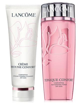 Free 7-piece Gift  (a $97 Value)) with Lancôme CONFORT Dual Pack purchase @ macys.com