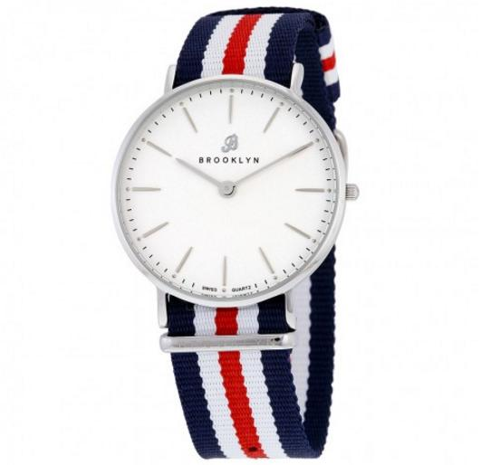 Brooklyn Flatland Casual Super Slim Swiss Quartz Watch@JomaShop.com