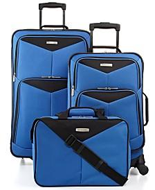 $49.99 Travel Select Bay Front 3 Piece Luggage Set