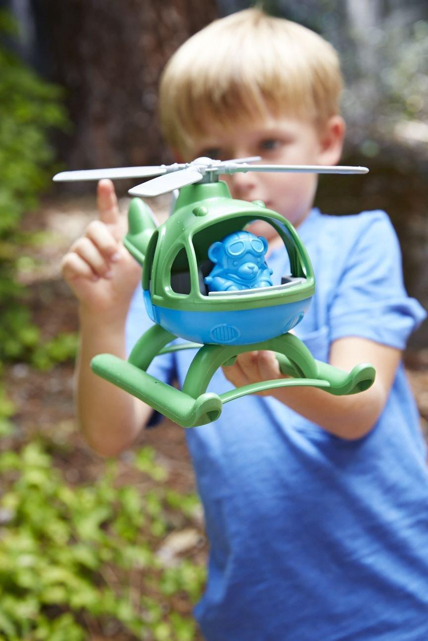 $8.09 Green Toys Helicopter, Green/Blue
