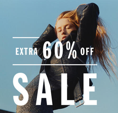 Extra 60% Off Sale Items @French Connection US