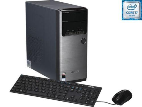 ASUS M32CD-US014T Desktop Computer (i7 6700, 16GB DDR3, 2TB, R9 370)