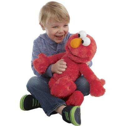 Playskool Sesame Street Elmo Jumbo Plush @ Amazon