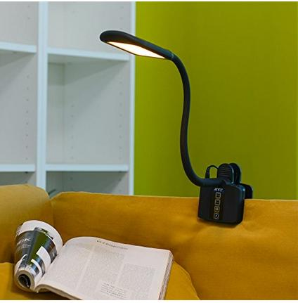 ANNT® 10W Clamp Dimmable Eye-care LED Desk Lamp with 1.5a USB Charging Port