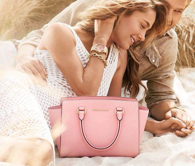 Save Up To $200 Off Pink Handbag & Wallet @ Michael Kors