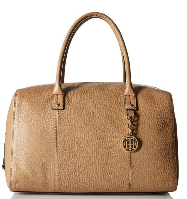 Tommy Hilfiger Faye Croco Duffle Shoulder Bag @ Amazon