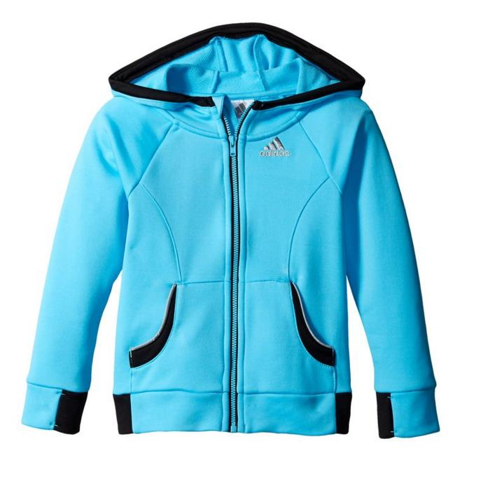 $9.50 adidas Little Girls' Fast Track Jacket