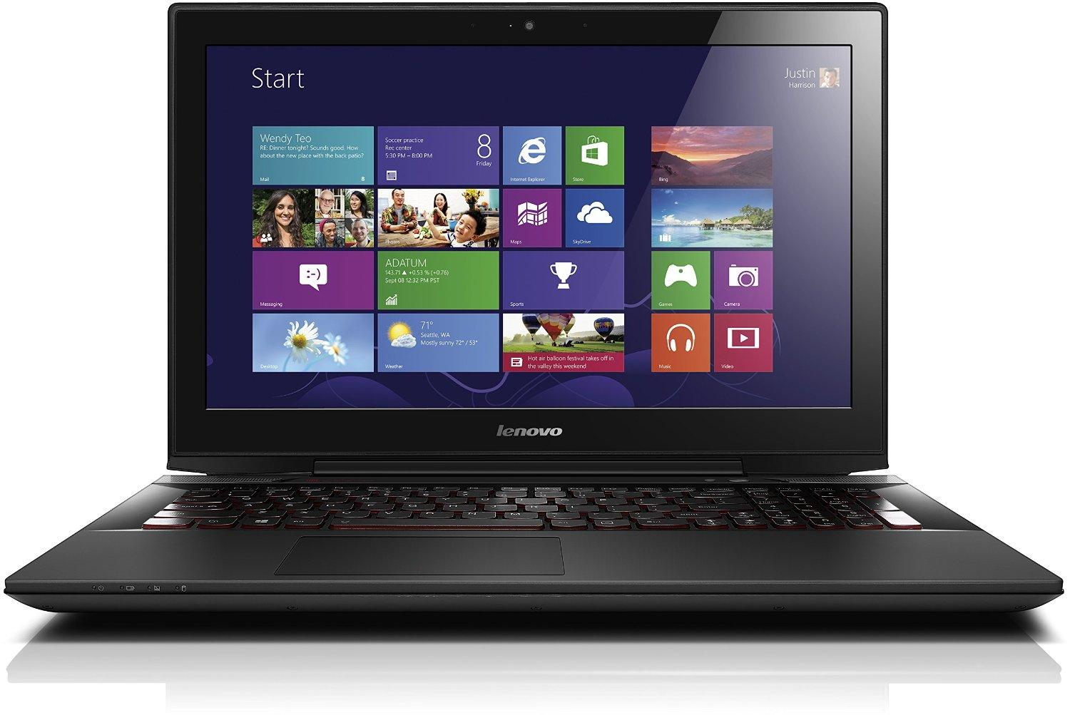 $982.91 Lenovo Y50-70 Laptop - 59445895 - Black