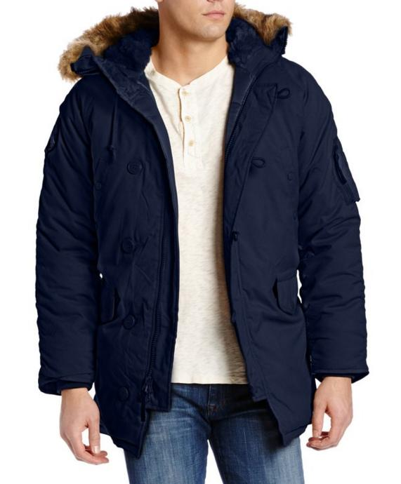 $112.85 Alpha Industries Men's Altitude Oxford Nylon N3-B Parka Jacket