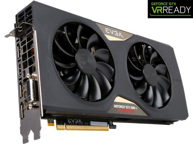 $619.99 EVGA GeForce GTX 980 Ti 06G-P4-4998-KR 6GB CLASSIFIED GAMING Graphics Card