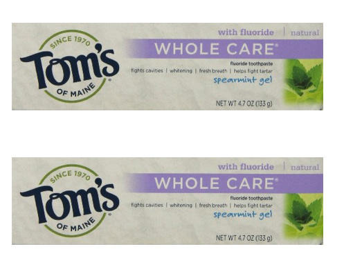 $7.58 Tom's of Maine Whole Care Fluoride Gel