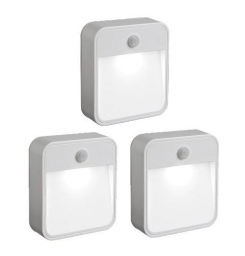 Mr. Beams MB723 Battery-Powered Motion-Sensing LED (3-Pack)