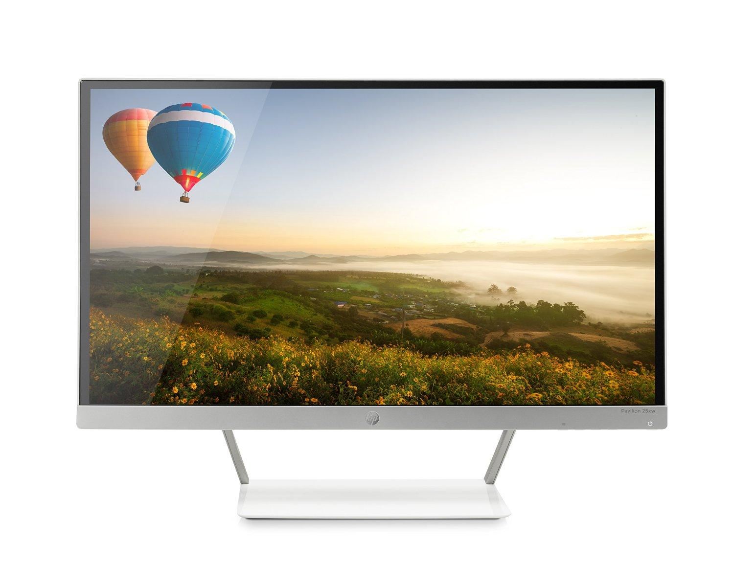 $159.99 HP Pavilion 25xw 25-in IPS LED Backlit Monitor