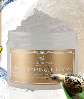 Free MY BEAUTY DIARY Aloe Vera Mask 10pc With ANNIE'S WAY Snail Repairing Jelly Mask 250ml Purchase @ Yamibuy