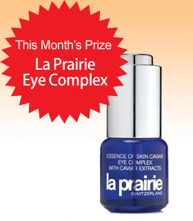 Subscribe to Dealmoon Newsletter, Win the La Prairie Eye Complex