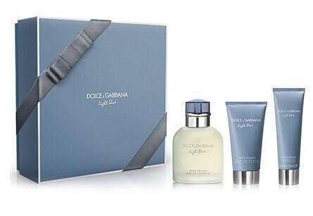 DOLCE & GABBANA LIGHT BLUE FOR MEN BY DOLCE & GABBANA GIFT SET @ Perfumania