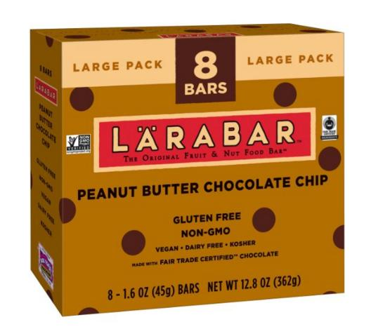 From $7.10 Larabar Gluten Free Fruit & Nut Food Bars
