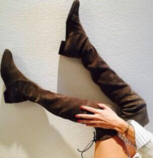 Stuart Weitzman Flat Over The Knee Boots - Lowland Stretch @ Bloomingdales