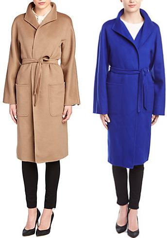 Max Mara Cashmere Coat On Sale @ Rue La La