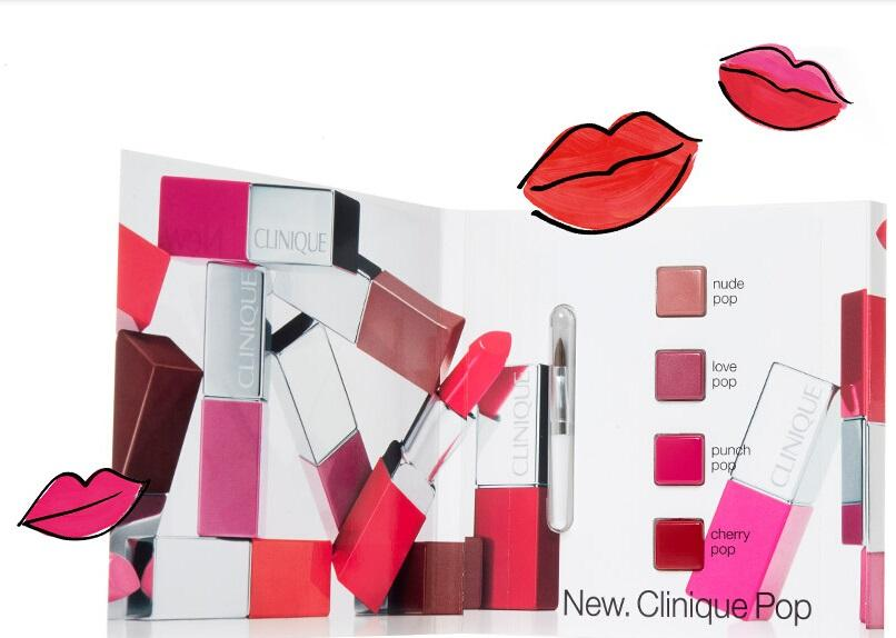Free Clinique Pop™ Lip Colour Samplewith $30 Purchase @ Clinique
