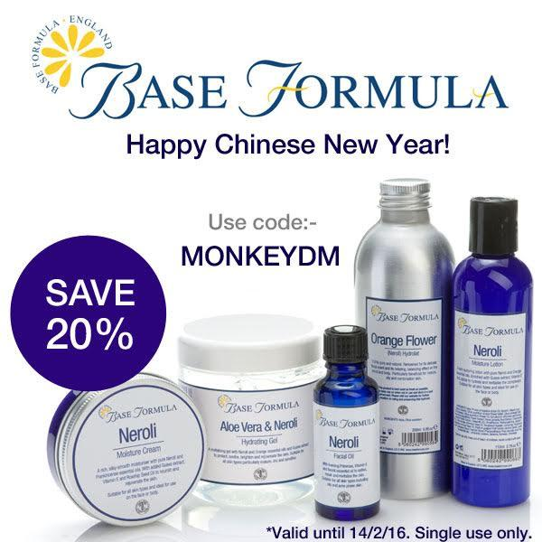 Happy Chinese New Year! 20% Off Sitewide @ Base Formula