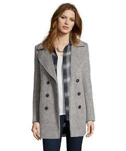 Marc New York by Andrew Marc Women's Effie Brushed Wool-Blend Double-Breasted Coat