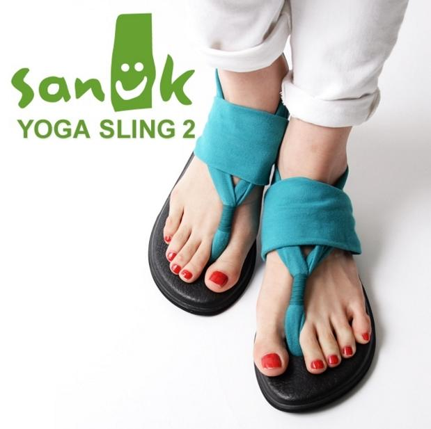 Sanuk Women's Yoga Sling 2 Flip-Flop @ Amazon