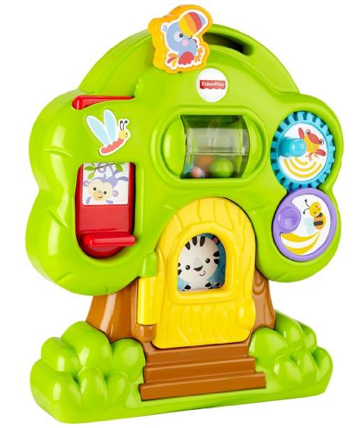$5.98 Fisher-Price Animal Friends Discovery Treehouse @ Amazon