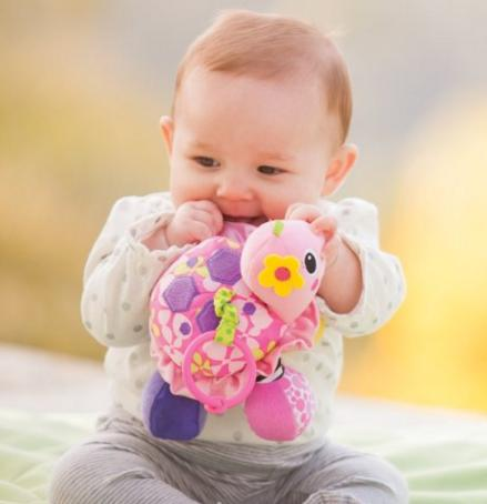 Infantino Sparkle Topsy Turtle Mirror Pal @ Amazon