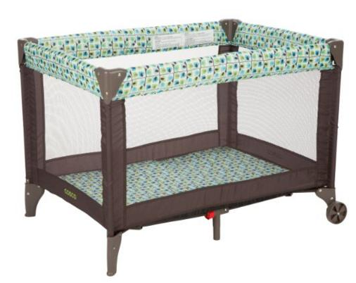 Cosco Funsport Play Yard, Elephant Squares @ Amazon