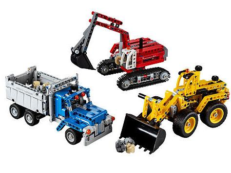 LEGO Technic Construction Crew 42023